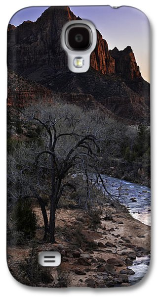 Southern Utah Galaxy S4 Cases - Winter Watchman Galaxy S4 Case by Chad Dutson