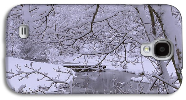 Winter Digital Art Galaxy S4 Cases - Winter Wonderland 2 Galaxy S4 Case by Mike McGlothlen