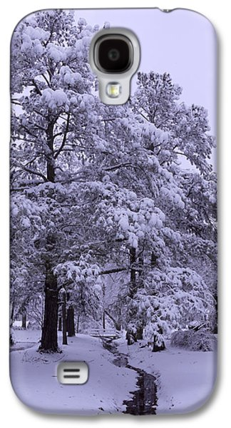 Winter Digital Art Galaxy S4 Cases - Winter Wonderland 3 Galaxy S4 Case by Mike McGlothlen