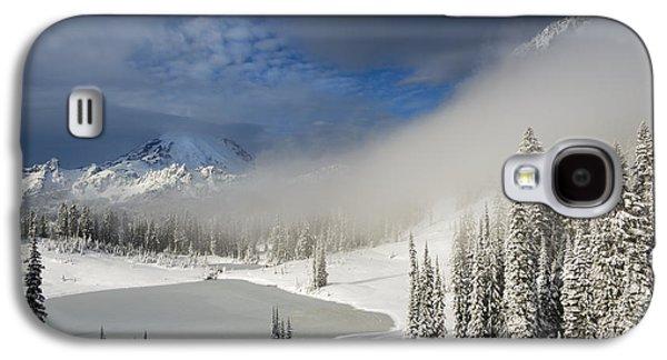Winter Storm Photographs Galaxy S4 Cases - Winter Wonderland Galaxy S4 Case by Mike  Dawson