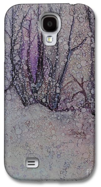 Trees In Snow Galaxy S4 Cases - Winter Woods Galaxy S4 Case by Sari Sauls