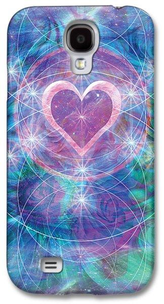 Alixandra Mullins Galaxy S4 Cases - Winterheart Galaxy S4 Case by Alixandra Mullins