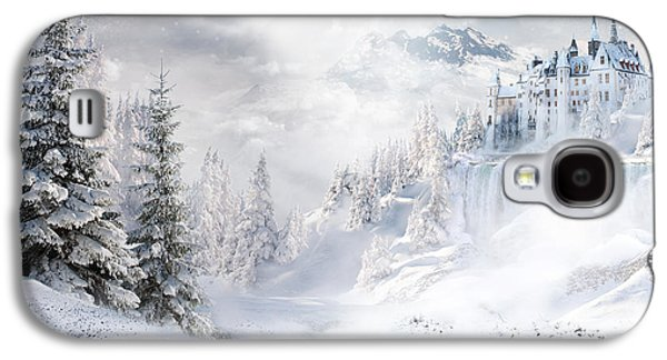 Nature Scene Mixed Media Galaxy S4 Cases - Winters Tale Galaxy S4 Case by Shanina Conway