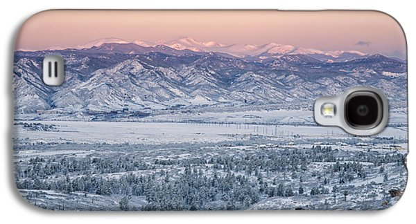 Light Galaxy S4 Cases - Winters View Galaxy S4 Case by Morris  McClung