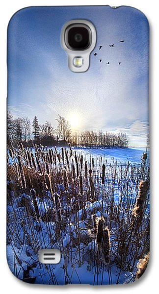 Vertical Flight Galaxy S4 Cases - WinterTails Galaxy S4 Case by Phil Koch