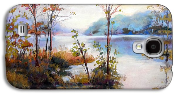 Contemplative Pastels Galaxy S4 Cases - wiondermere Autumn morning Galaxy S4 Case by Heather Harman