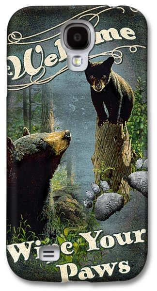 Wipe Your Paws Galaxy S4 Case by JQ Licensing