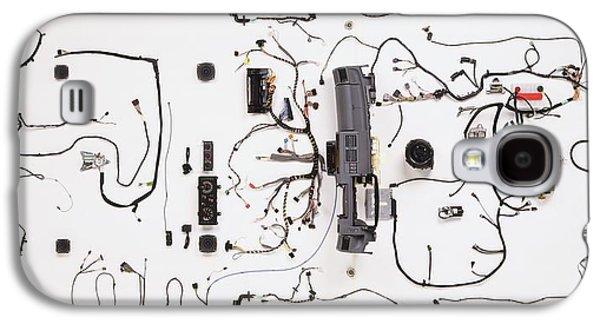 Wiring Loom Of Modern Car Galaxy S4 Case by Dorling Kindersley/uig