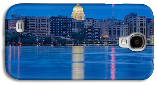 Wisconsin Capitol Reflection Galaxy S4 Case by Sebastian Musial