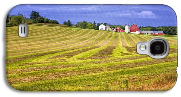 Landmarks Photographs Galaxy S4 Cases - Wisconsin Dawn Galaxy S4 Case by Joan Carroll