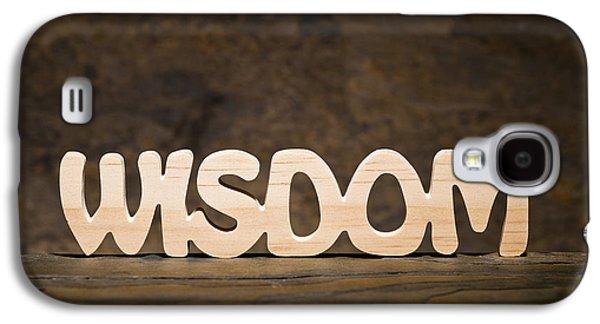 Positive Attitude Galaxy S4 Cases - Wisdom Galaxy S4 Case by Donald  Erickson