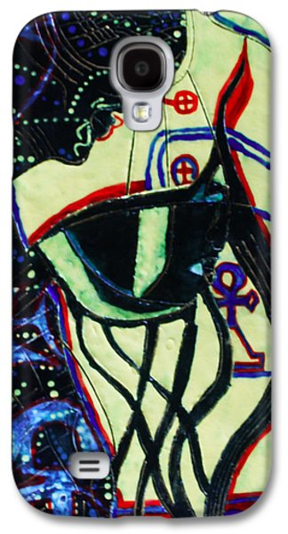 Light Ceramics Galaxy S4 Cases - Wise Virgin Galaxy S4 Case by Gloria Ssali