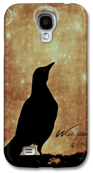 Wishes Galaxy S4 Cases - Wish You Were Here 1 Galaxy S4 Case by Carol Leigh