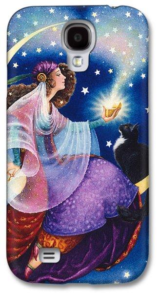 Gypsy Galaxy S4 Cases - Wishes Galaxy S4 Case by Lynn Bywaters