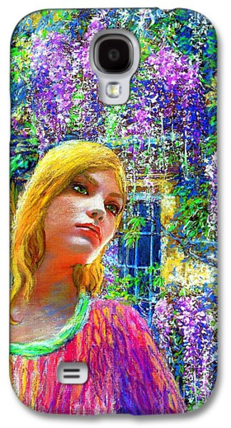 Wisteria Galaxy S4 Case by Jane Small