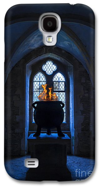 Creepy Digital Galaxy S4 Cases - Witchs Potion Galaxy S4 Case by Svetlana Sewell