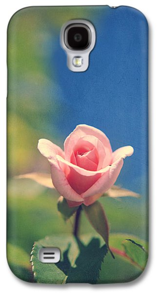 Texture Flower Galaxy S4 Cases - With Love Always Galaxy S4 Case by Laurie Search