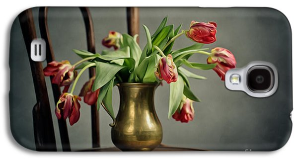 Withered Tulips Galaxy S4 Case by Nailia Schwarz