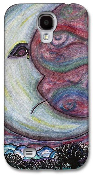 Phillies Paintings Galaxy S4 Cases - Without His Lover Galaxy S4 Case by Philly Johnmeyer