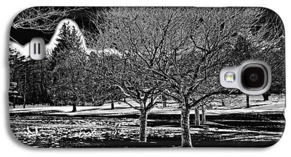 Snowy Day Galaxy S4 Cases - Without You Galaxy S4 Case by Madeline Ellis