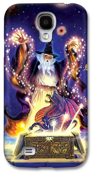 Wizard Dragon Spell Galaxy S4 Case by Andrew Farley