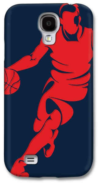 Wizard Photographs Galaxy S4 Cases - Wizards Basketball Player3 Galaxy S4 Case by Joe Hamilton