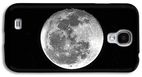 Man In The Moon Galaxy S4 Cases - Wolf Moon Waning Galaxy S4 Case by Al Powell Photography USA