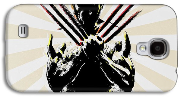 Wolverine Galaxy S4 Case by Mark Ashkenazi