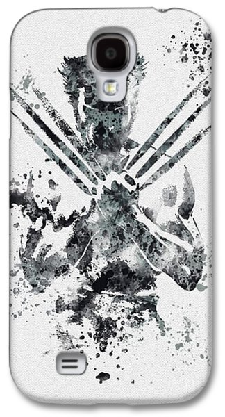 Abstract Art Prints Galaxy S4 Cases - Wolverine Galaxy S4 Case by Rebecca Jenkins
