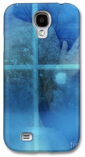 Ball Gown Photographs Galaxy S4 Cases - Woman at a Window Galaxy S4 Case by Jill Battaglia