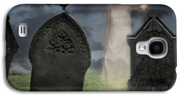 Halloween Photographs Galaxy S4 Cases - Woman Haunting Cemetery Galaxy S4 Case by Amanda And Christopher Elwell