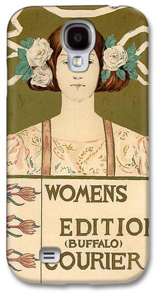 Buffalo Art Digital Art Galaxy S4 Cases - Womens Edition Buffalo Courier Galaxy S4 Case by Gianfranco Weiss