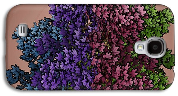 Contemplative Mixed Media Galaxy S4 Cases - Wonderful Colors 1 Galaxy S4 Case by Pepita Selles