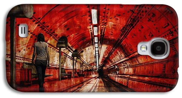 Painter Photo Galaxy S4 Cases - Wondering Galaxy S4 Case by Jack Zulli