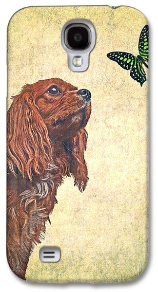 Puppies Galaxy S4 Cases - Wonders of Nature Galaxy S4 Case by Edward Fielding