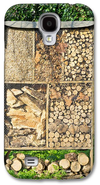 Shed Galaxy S4 Cases - Wood and straw storage Galaxy S4 Case by Tom Gowanlock