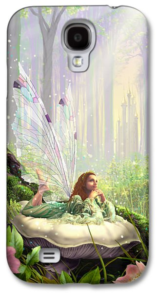 Dream Photographs Galaxy S4 Cases - Wood Fairy Galaxy S4 Case by Garry Walton