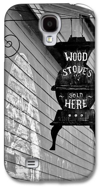 Consumerproduct Galaxy S4 Cases - Wood Stoves Sold Here Galaxy S4 Case by Christine Till