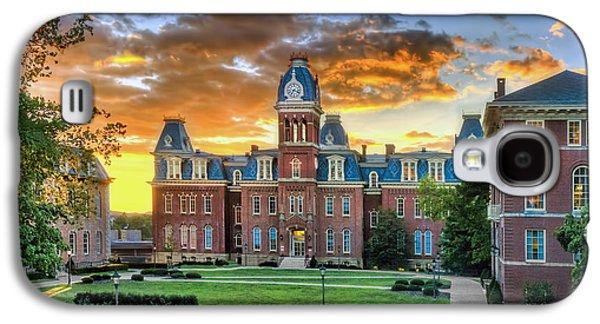 Dan Friend Galaxy S4 Cases - Woodburn Hall evening sunset Galaxy S4 Case by Dan Friend