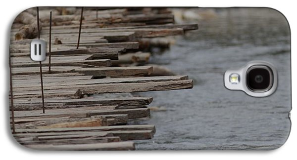 Makeshift Galaxy S4 Cases - Wooden Bridge  Galaxy S4 Case by Ramabhadran Thirupattur