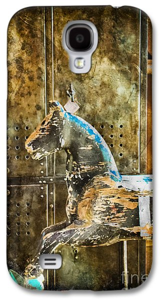 Original Art Photographs Galaxy S4 Cases - Wooden Horse Galaxy S4 Case by Colleen Kammerer
