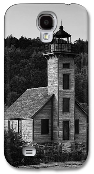 Wooden Galaxy S4 Cases - Wooden Lighthouse Galaxy S4 Case by Sebastian Musial