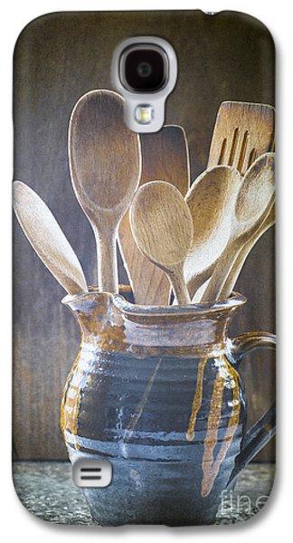Wooden Spoons Galaxy S4 Case by Jan Bickerton