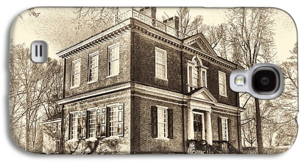 Phila Galaxy S4 Cases - Woodford Mansion Galaxy S4 Case by Olivier Le Queinec