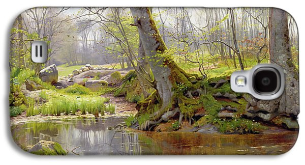 Recently Sold -  - Person Galaxy S4 Cases - Woodland Pond Galaxy S4 Case by Peder Monsted