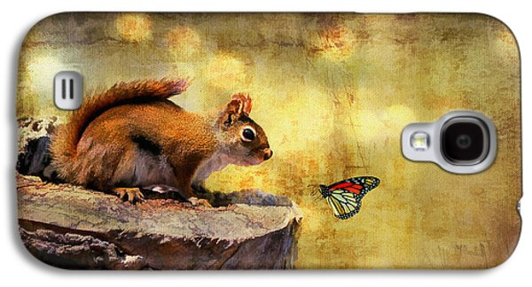 Insects Digital Galaxy S4 Cases - Woodland Wonder Galaxy S4 Case by Lois Bryan