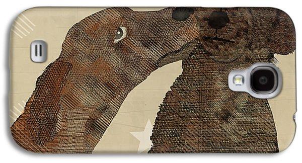 Dogs Digital Art Galaxy S4 Cases - Woof Me Do  Galaxy S4 Case by Bri Buckley