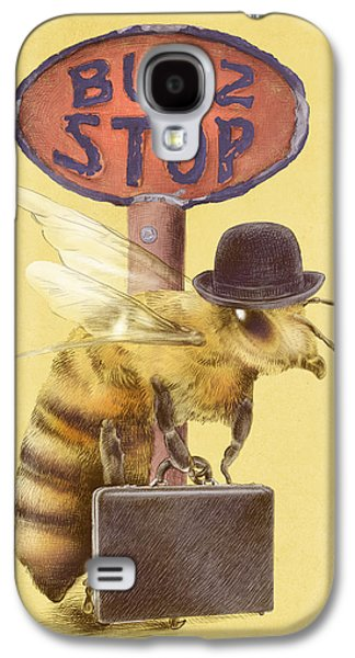 Worker Bee Yellow Option Galaxy S4 Case by Eric Fan