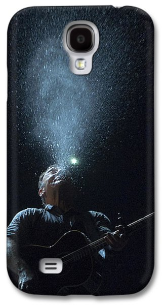 Bruce Springsteen Photographs Galaxy S4 Cases - Working on the Highway Galaxy S4 Case by Jeff Ross