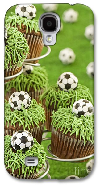 Soccer Photographs Galaxy S4 Cases - World Cup Cupcakes Galaxy S4 Case by Amanda And Christopher Elwell